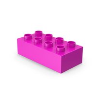 Pink 2x4 Lego PNG & PSD Images