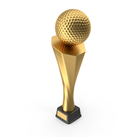 Trophy Cup Golf Gold PNG & PSD Images