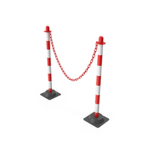 Post Chain Barrier PNG & PSD Images