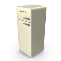 Pastel Beige Refrigerator PNG & PSD Images