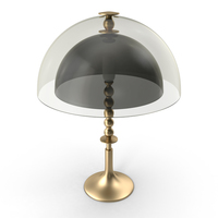 Round Table Lamp PNG & PSD Images