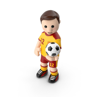 Football Player with Ball in Hand PNG & PSD Images