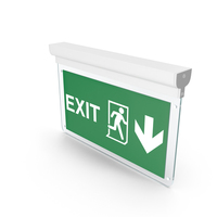 Exit Sign PNG & PSD Images