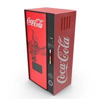 Coke Vending Machine PNG & PSD Images