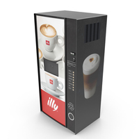 Coffee Vending Machine PNG & PSD Images