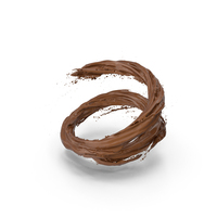 Chocolate Vortex PNG & PSD Images