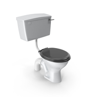 Low Level WC Twyford PNG & PSD Images