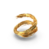 Gold Vortex PNG & PSD Images