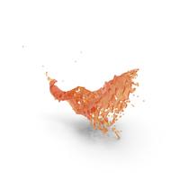 Orange Splash PNG & PSD Images