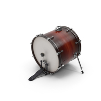 Bass Drum with Pedal PNG & PSD Images