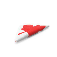 Folded Flag of Canada PNG & PSD Images