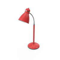 Office Lamp Red PNG & PSD Images