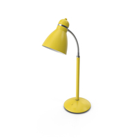 Office Lamp Yellow PNG & PSD Images