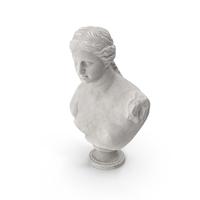 Venus de Milo Bust PNG & PSD Images