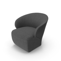 Dark Arm Chair PNG & PSD Images