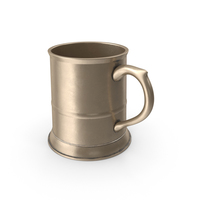 Brass Pewter Mug PNG & PSD Images