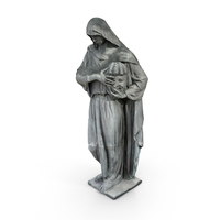 Figure With Mask Statue PNG & PSD Images