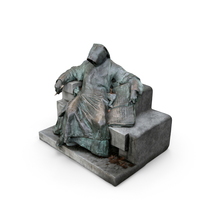 Statue of Anonymus PNG & PSD Images