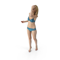 Casual Woman in Underwear PNG & PSD Images