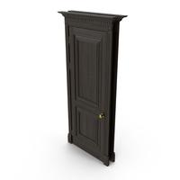 Classic Oak Door PNG & PSD Images