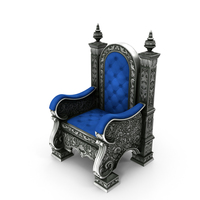 Silver Throne PNG & PSD Images