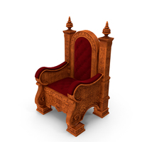 Wooden Throne PNG & PSD Images