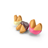 Chocolate Covered Fortune Cookies PNG & PSD Images