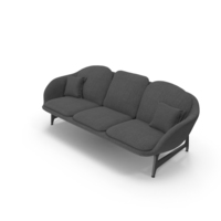 Dark Sofa PNG & PSD Images