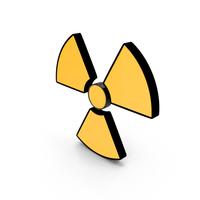 Danger Sign Radiation PNG & PSD Images
