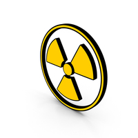 Danger Sign Radiation cartoon PNG & PSD Images