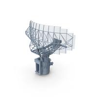 AN-SPS-49 Radar Antenna PNG & PSD Images