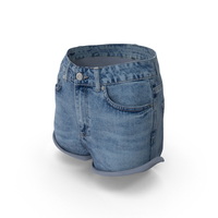 Women's Jeans Shorts PNG & PSD Images