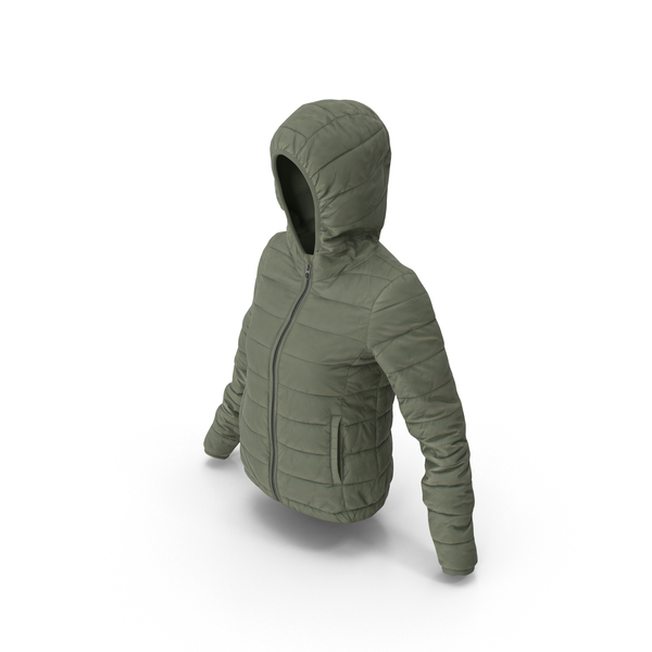 Women's Down Jacket PNG & PSD Images