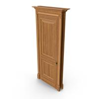 Classic Red Oak Door PNG & PSD Images