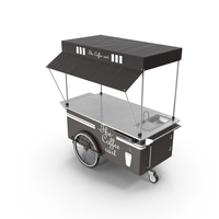 Empty Coffee Cart PNG & PSD Images
