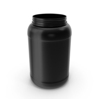1.5 Gallon Plastic Jar Without Lid PNG & PSD Images