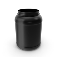 2 Gallon Plastic Jar Without Lid PNG & PSD Images