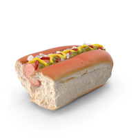 Hot Dog Bitten PNG & PSD Images