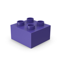 2x2 Toy Brick PNG & PSD Images