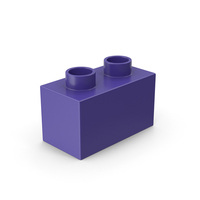1x2 Toy Brick PNG & PSD Images