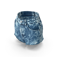 Womens Jean Shorts PNG & PSD Images