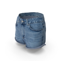 Womens Jeans Shorts PNG & PSD Images
