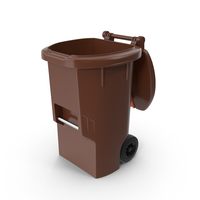 Trash Can Open New PNG & PSD Images