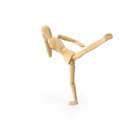 Karate Pose Mannequin PNG & PSD Images
