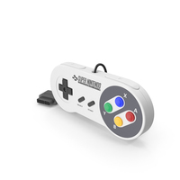 SNES Controller PNG & PSD Images