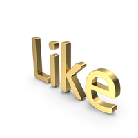 Like Text PNG & PSD Images