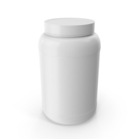 Plastic Bottles Wide Mouth 1 5 Gallon White PNG & PSD Images
