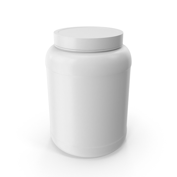 Plastic Bottles Wide Mouth 1 8 Gallon White PNG & PSD Images