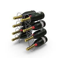 Wine Bottle Holder PNG & PSD Images