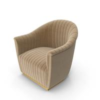 Koket Mia Art Deco Club Chair PNG & PSD Images